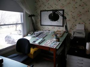 Rebecca's Work Area