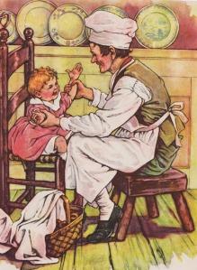 Pat-A-Cake by C.M.Burd from The Brimful Book, Platt & Munk Company 1929