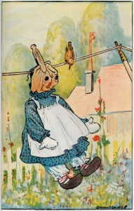 by Johnny Gruelle from Raggedy Ann Stories, P.F. Volland Company 1918